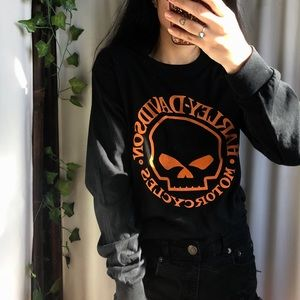 🌻 Harley-Davidson long-sleeve Tee